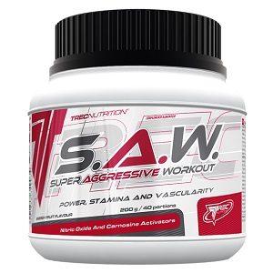 Предтренировочник SAW от Trec Nutrition