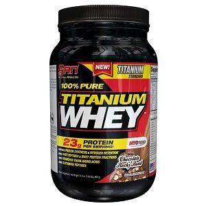 100% Pure Titanium Whey, 897 г