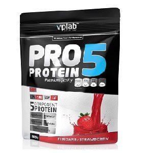 Многокомпонентный протеин Pro 5 80%, 500 г