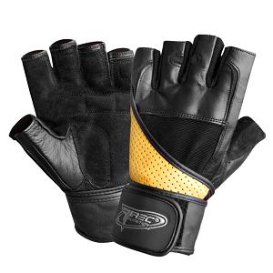 Перчатки Super Strong Черно-желтые