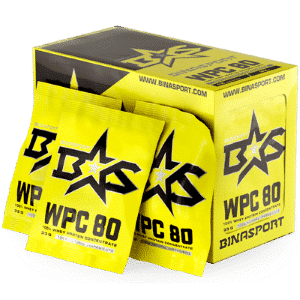 Протеин WPC 80 WHEY PROTEIN (18x33) от Binasport