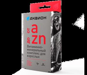 ОТ А ДО ZN, витаминно-минеральный комплекс для взрослых, 30 табл