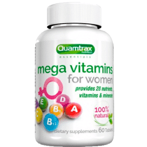Mega Vitamins for Women, 60 табл