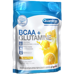 BCAA 2:1:1 + Glutamine Powder, 500 г